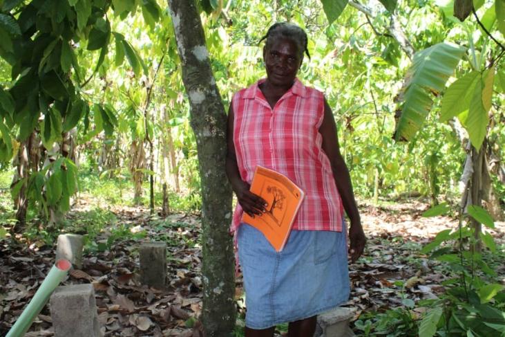 "Témoignage de Marianie en Haïti : ""Mon jardin sert d'exemple"" Image principale"