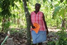 """Témoignage de Marianie en Haïti : """"Mon jardin sert d'exemple"""" Vignette"""