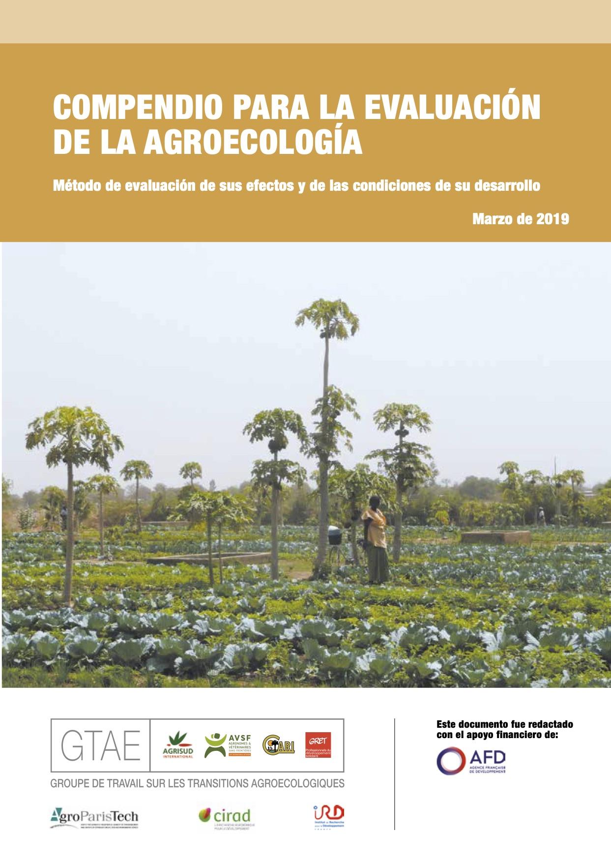 Compendio para la evaluación de la agroecología Image principale
