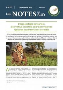 L'agroécologie paysanne : alternative sociétale pour des systèmes agricoles et alimentaires durables  Vignette