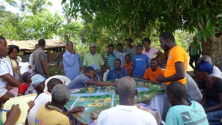 Haïti : un jeu de rôle pour gérer l'eau Image principale