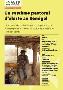 Lex expériences innovantes d'AVSF : Un système pastoral d'alerte au Sénégal Vignette