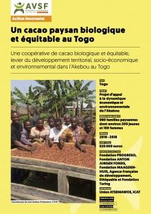 Les actions innovantes d'AVSF : Un cacao paysan biologique et équitable au Togo  Vignette