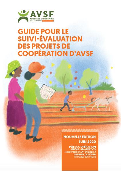 Guide pour le suivi-évaluation des projets de coopération d'AVSF Image principale