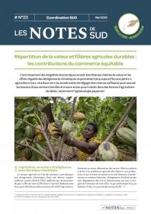 Répartition de la valeur et filières agricoles durables : les contributions du commerce équitable (Les notes de SUD n°23) Vignette