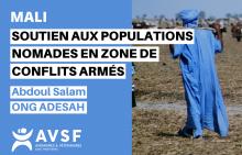 Mali : soutien aux populations nomades en zone de conflits armés Vignette