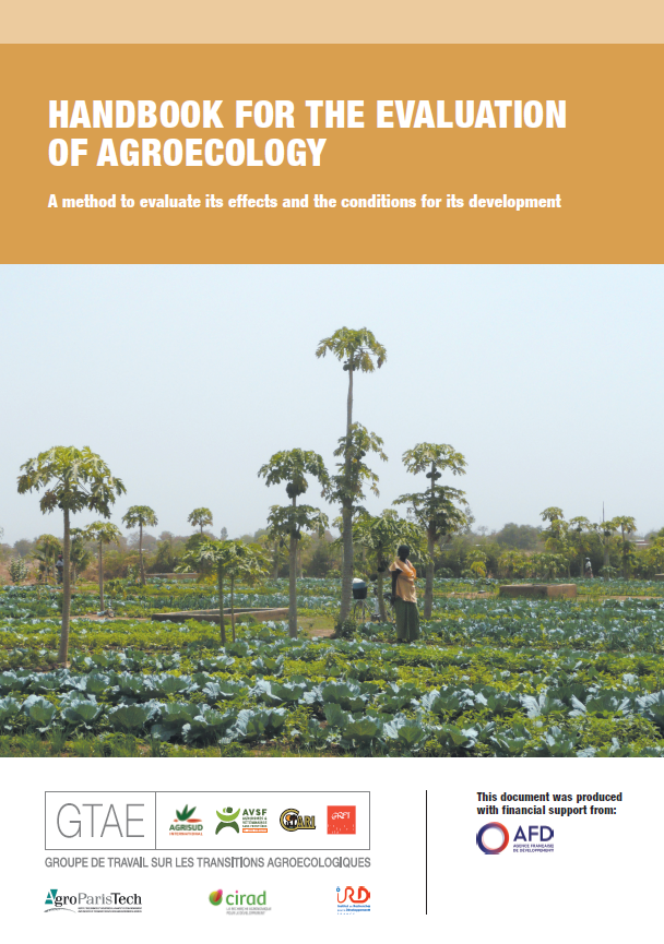 Handbook for the evaluation of agroecology : A method to evaluate its effects and the conditions for its development Image principale