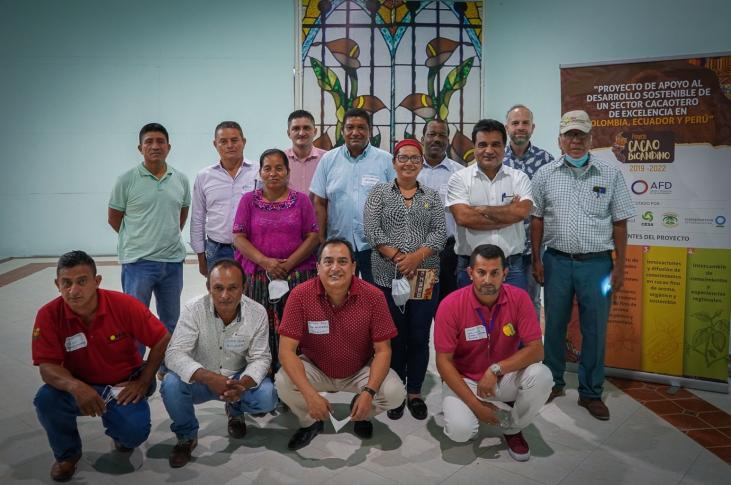 Trois partenaires de MOABI soutiennent la création de la nouvelle Association latino-américaine des organisations de petits producteurs de cacao (Alcacao)  Image principale