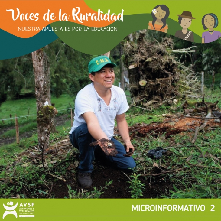 Colombia: Educación técnica rural con diálogo territorial  Image principale