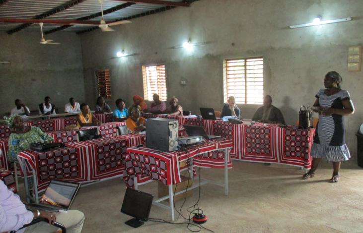 Du karité contre la pauvreté au Burkina Faso Image principale