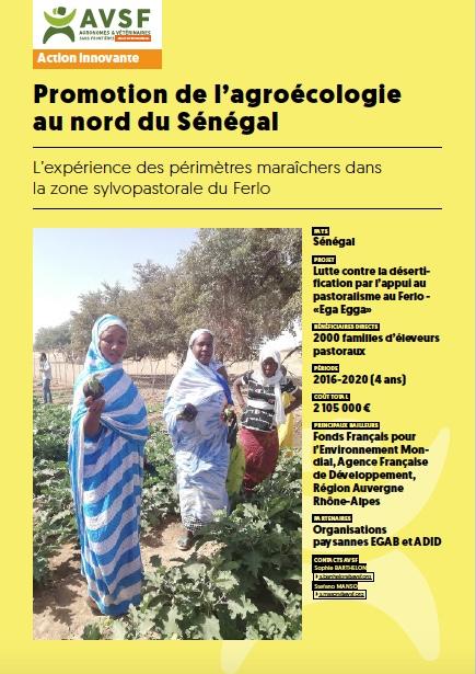 Promotion de l'agroécologie au nord du Sénégal Image principale