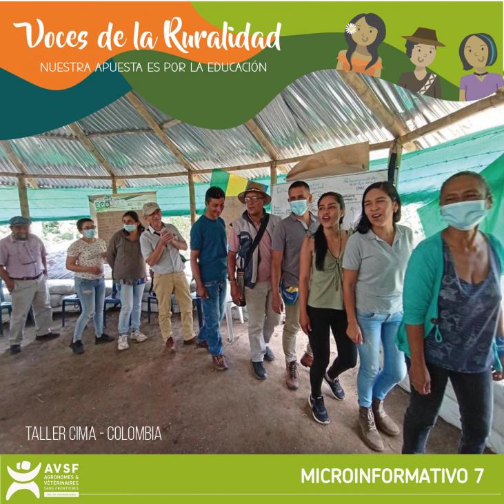 Colombia: Formación para el impulso rural  - es-es -> à traduire Image principale