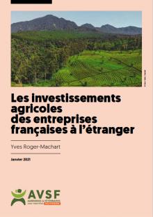Les investissements agricoles des entreprises françaises à l'étranger Vignette