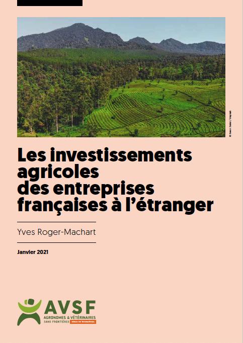 Les investissements agricoles des entreprises françaises à l'étranger Image principale