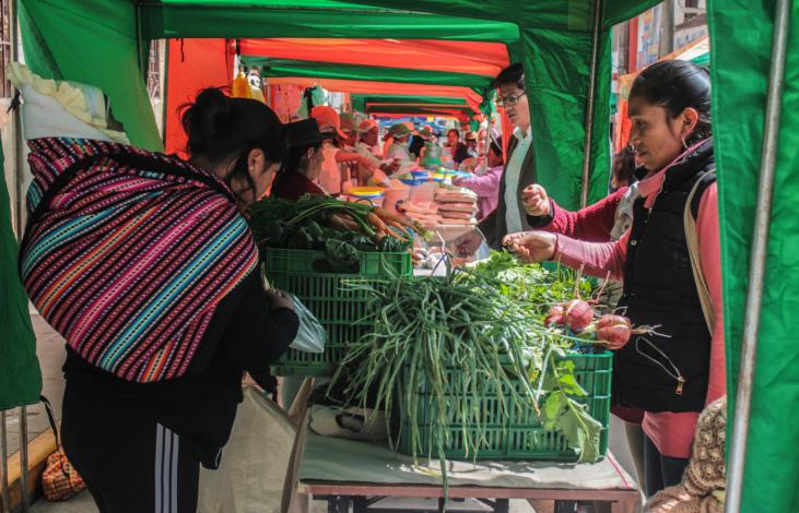 Pérou : Soutenir les marchés paysans Image principale
