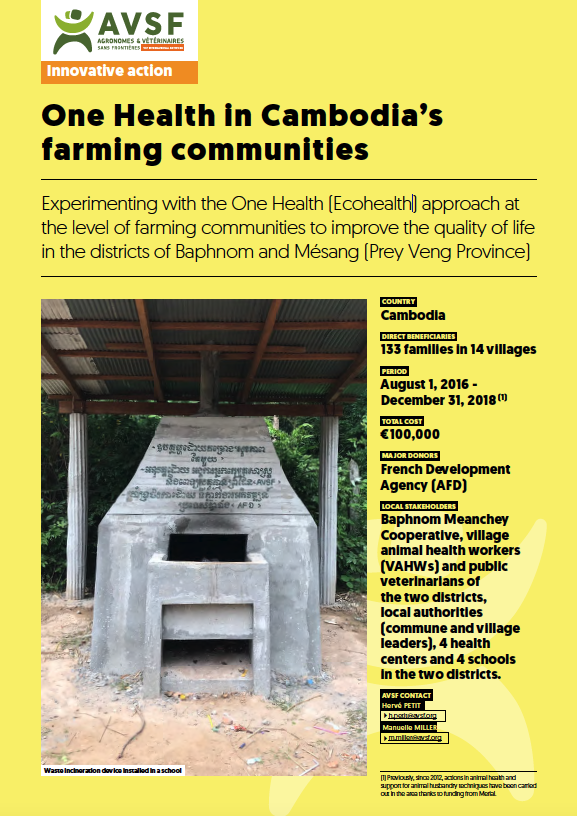 Innovative Action : One Health in Cambodia's farming communities Image principale