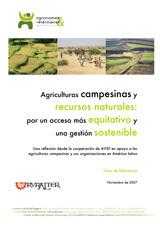 Thumbnail - Agriculturas campesinas y recursos naturales: por un acceso más equitativo y una gestión sostenible