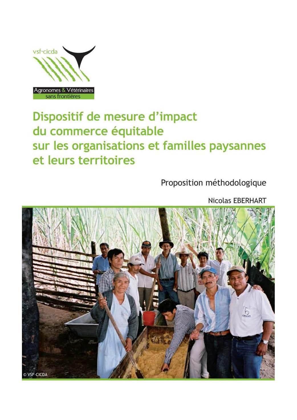 Thumbnail - Dispositif de mesure d'impact du commerce équitable sur les organisations et familles paysannes et leurs territoires