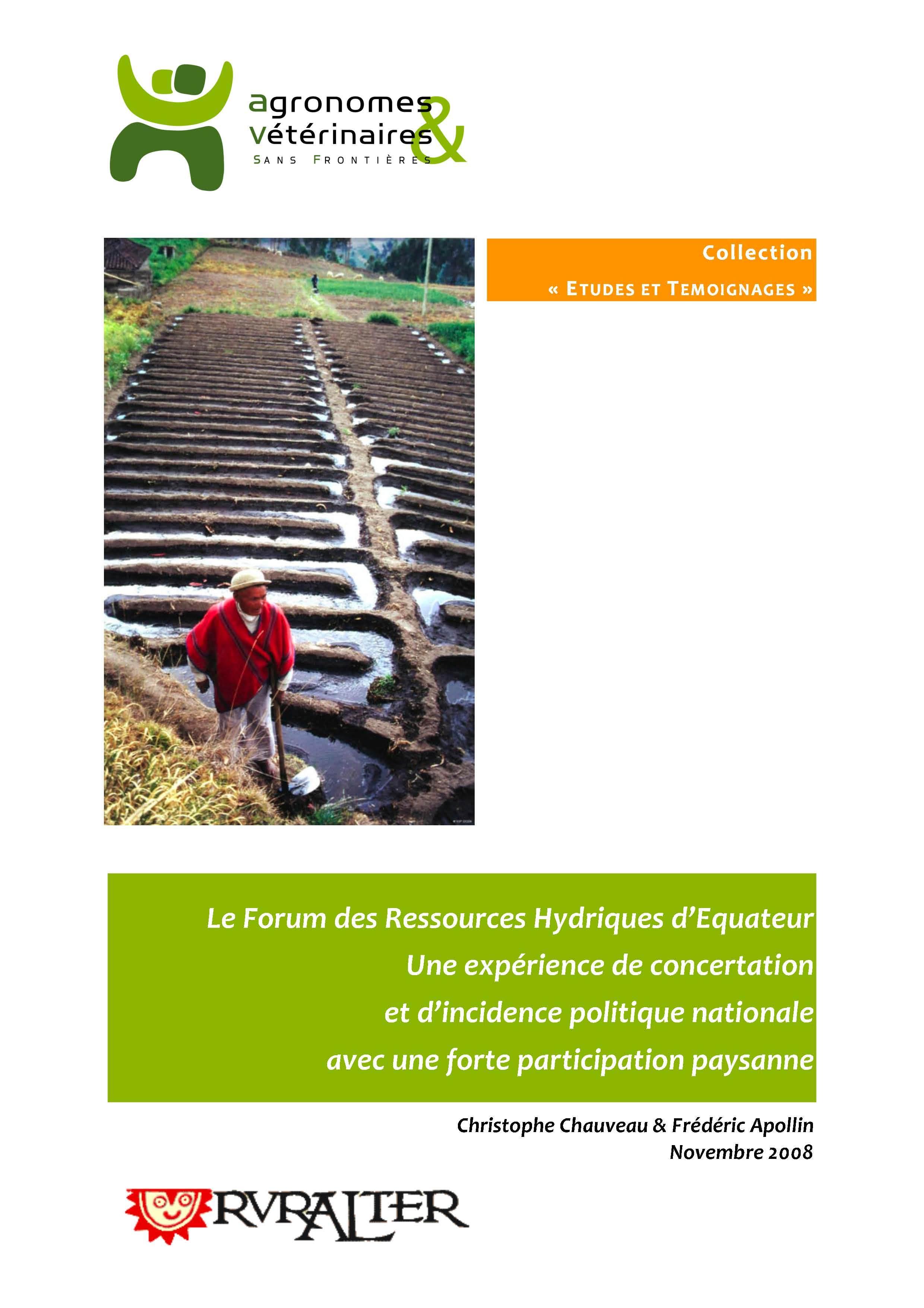 Thumbnail - Le Forum des ressources hydriques en Equateur