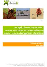 Thumbnail - Les agricultures paysannes : victimes et acteurs incontournables de la lutte contre le changement climatique