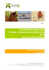 Thumbnail - Las agriculturas campesinas : victimas y actores imprescindibles de la lucha contra el cambio climático