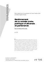 Thumbnail - Renforcement de la société civile et politique d'alliances et partenariat