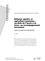 Thumbnail - Réforme agraire et agriculture paysanne : l'expérience du projet Bagé au Brésil
