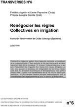Thumbnail - Renégocier les règles collectives en irrigation : Urcuqui en Equateur