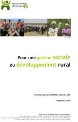 Thumbnail - Pour une gestion sociale du développement rural