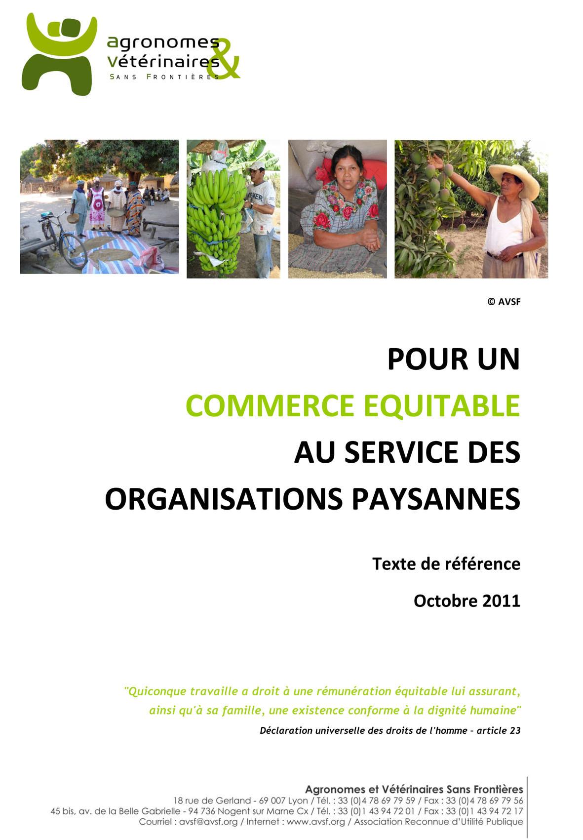 PDF Preview - Pour un commerce équitable au service des organisations de producteurs