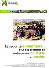 Thumbnail - Agricultures paysannes et sécurité alimentaire : pour des politiques de développement équitable et durable