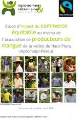 Thumbnail - Etude d'impact du commerce équitable pour les producteurs de mangue de Chulucanas (Pérou)
