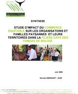 Thumbnail - Impact du commerce équitable dans la filière café en Bolivie (Synthèse)