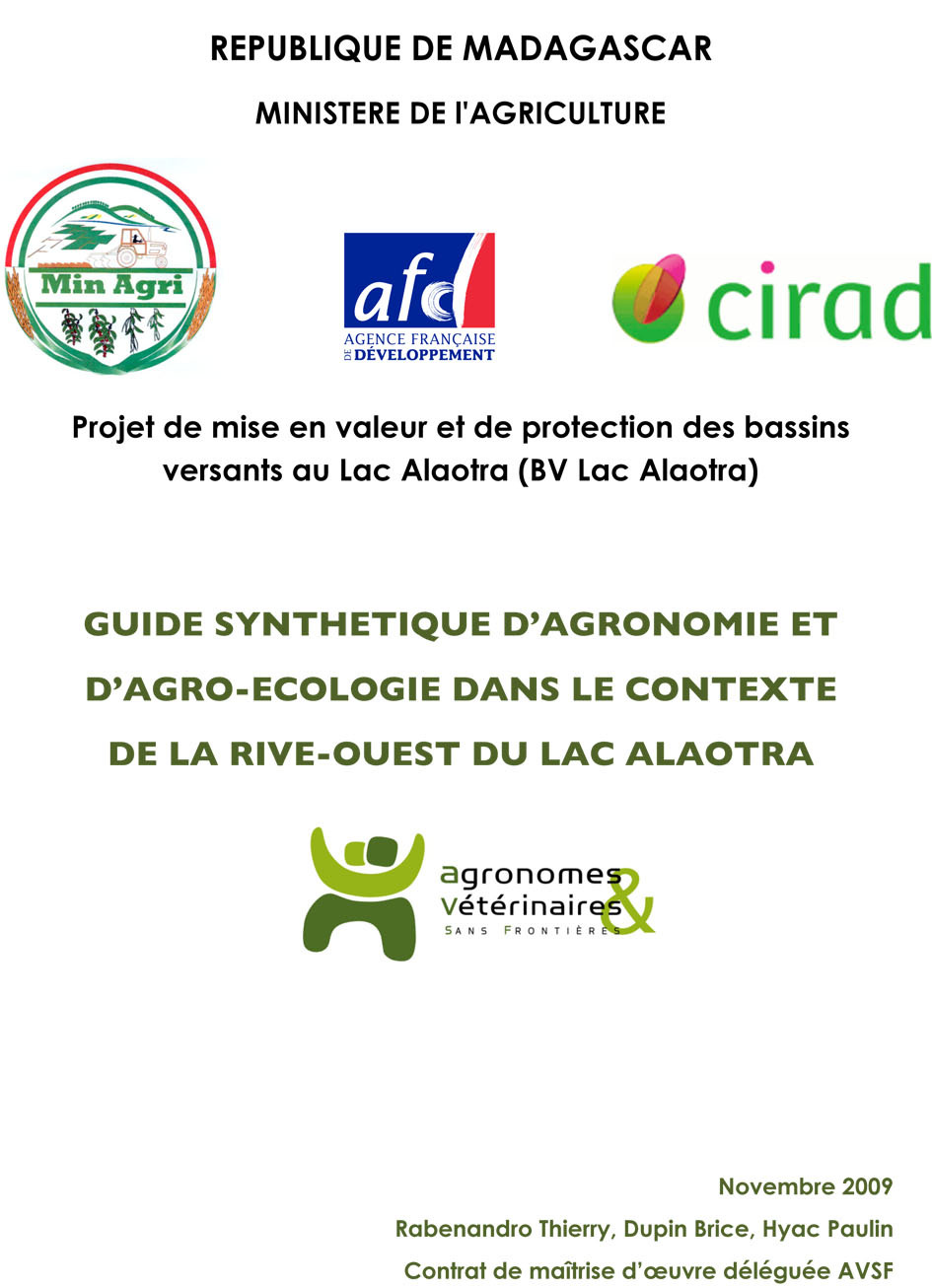 Thumbnail - Guide synthétique d'agroécologie au Lac Alaotra (Madagascar)