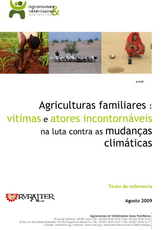 Thumbnail - Agriculturas familiares :  vitimas e atores incontornáveis na luta contra as mudanças climáticas