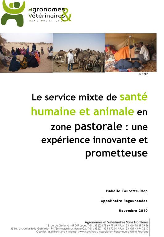 Thumbnail - Le service mixte de santé humaine et animale en zone pastorale : une expérience innovante et prometteuse