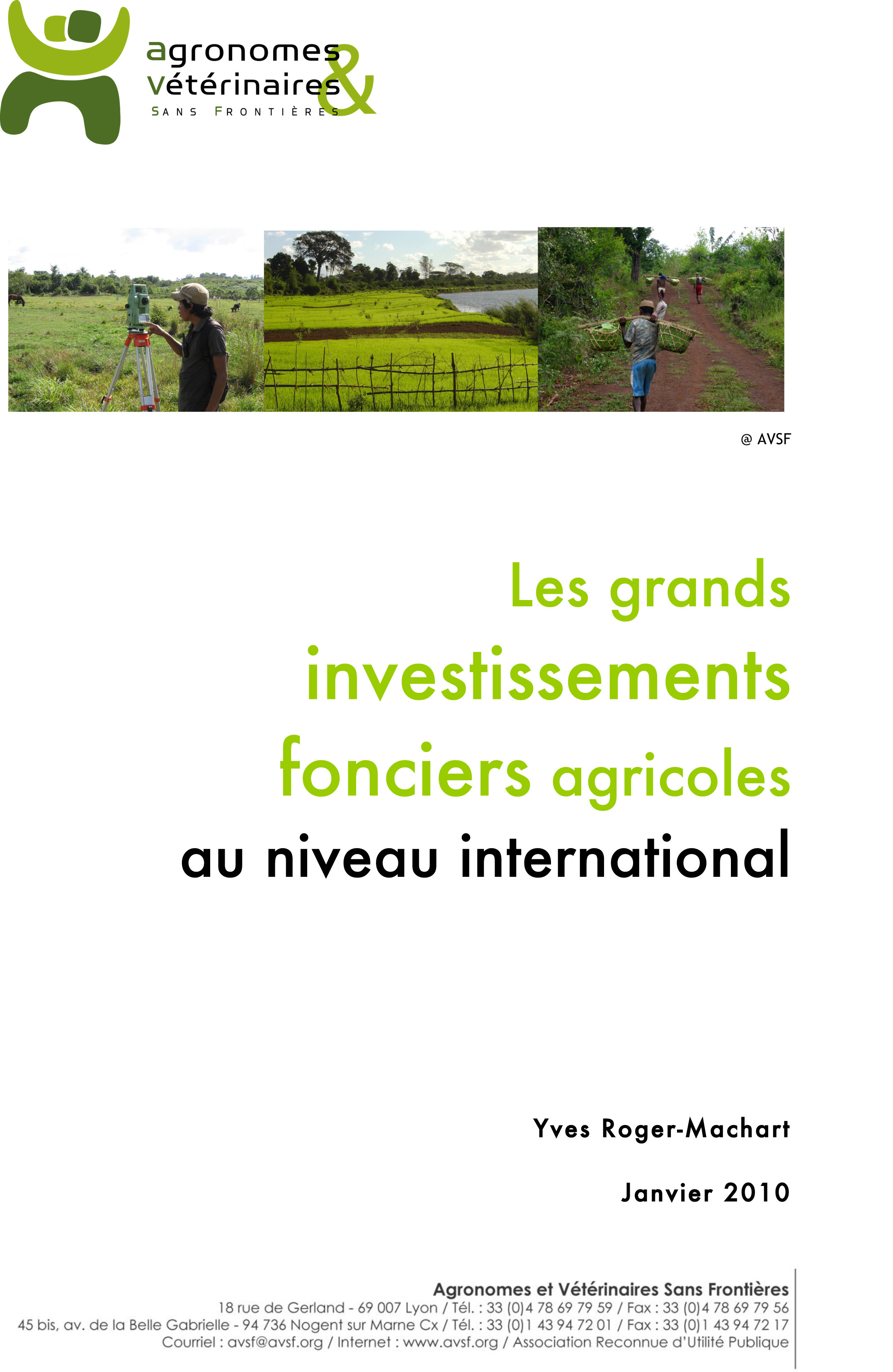PDF Preview - Les grands investissements fonciers au niveau international