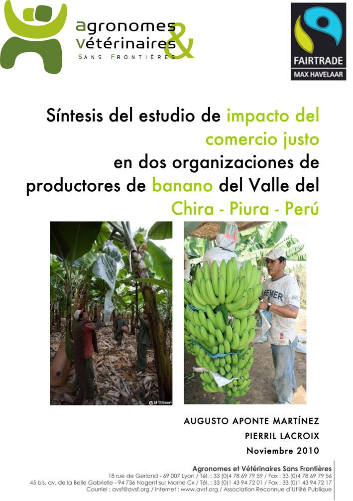 Thumbnail - Impacto del comercio justo en dos organizaciones de productores de banano del Valle del Chira - Piura - Perú (Síntesis)