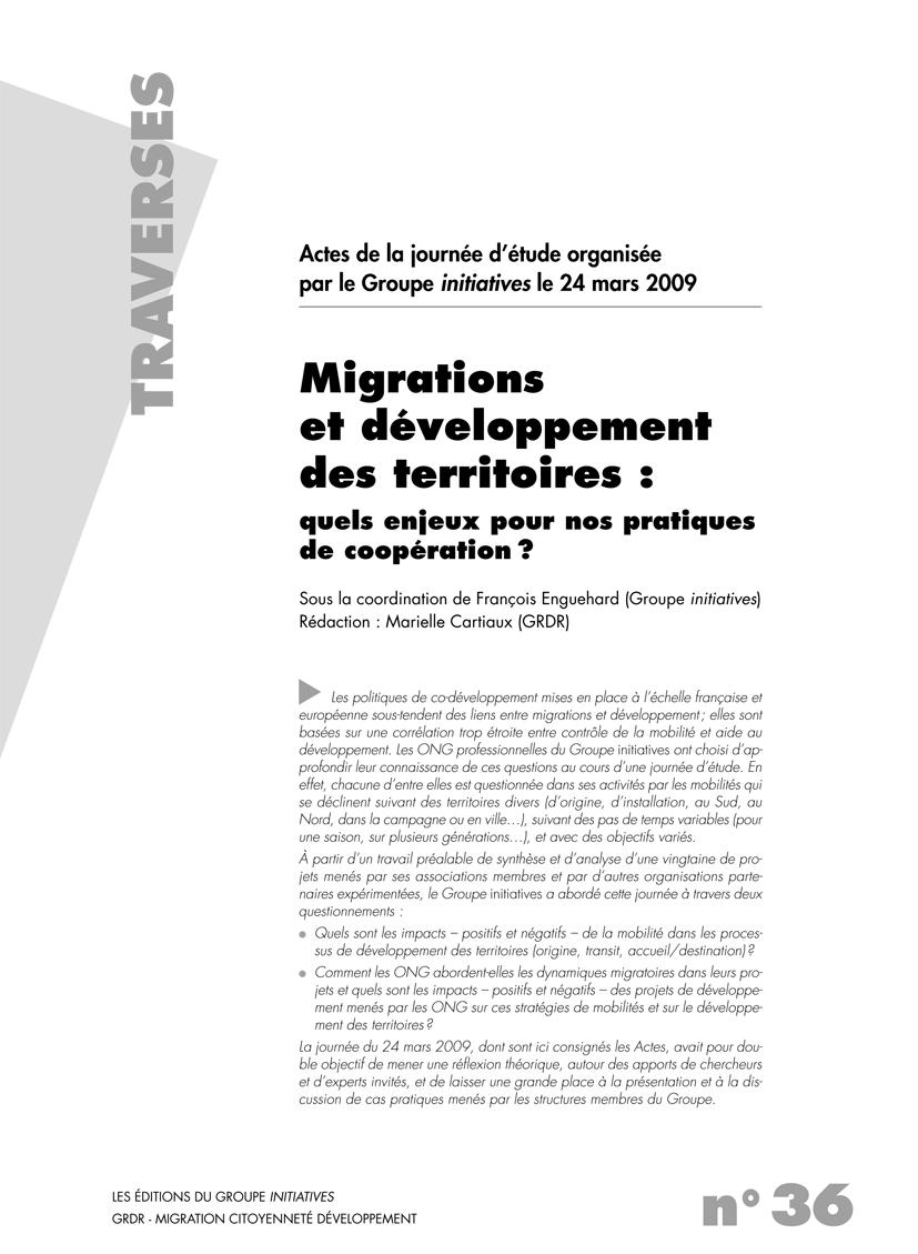 Thumbnail - Migration et développement des territoires : quels enjeux pour nos territoires de coopération ?