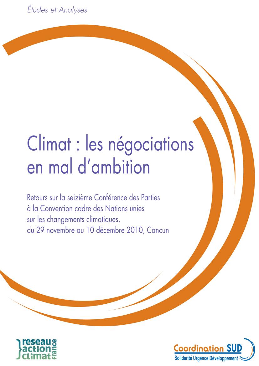 Thumbnail - Climat : les négociations en mal d'ambition : retour sur la Conférence de Cancun