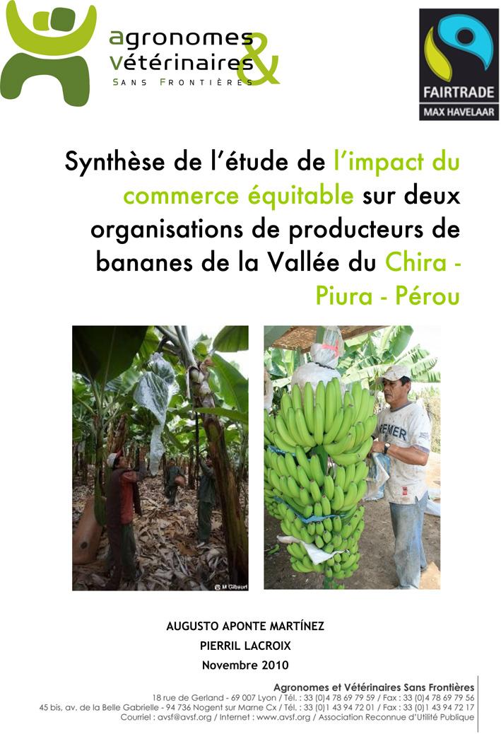 Thumbnail - Impact du commerce équitable sur deux organisations de producteurs de la vallée de Chira (Piura - Pérou)