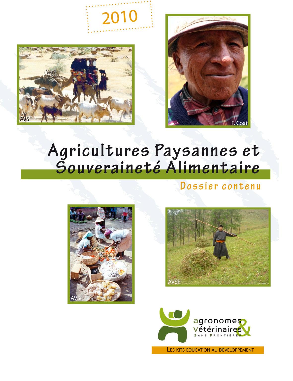 Thumbnail - Kit pédagogique : la souveraineté alimentaire