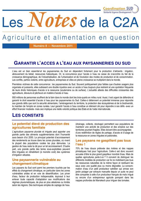 Thumbnail - Garantir l'accès à l'eau des populations paysannes