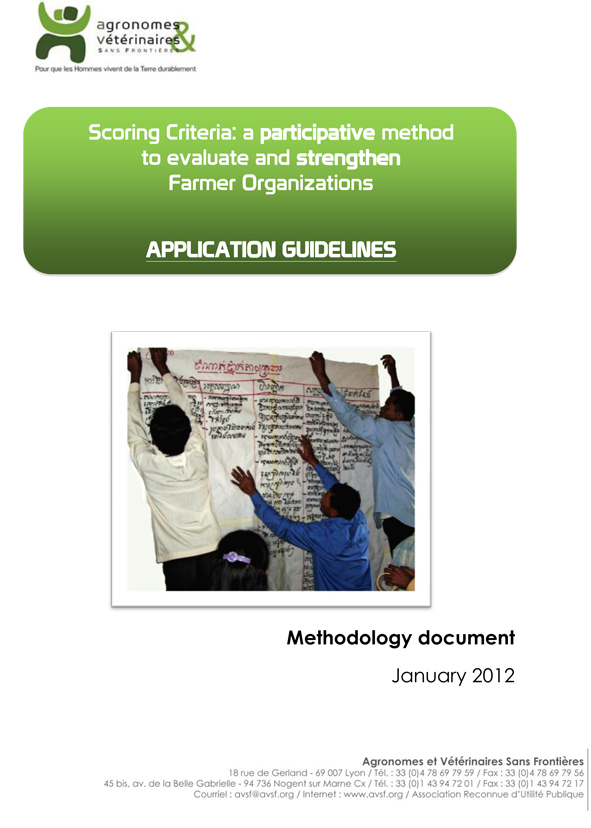 PDF Preview - Scoring criteria: a participative method to evaluate and strengthen farmer organizations