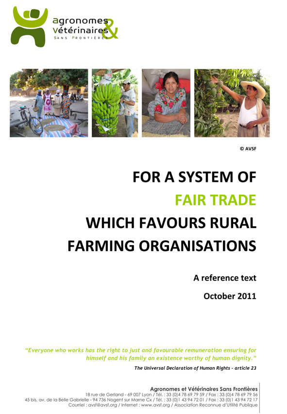 PDF Preview - For a system of fair trade which favours rural farming organisations