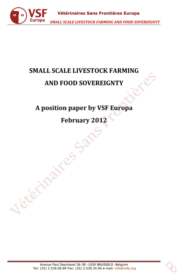 Thumbnail - Small scale livestock farming and food sovereignty