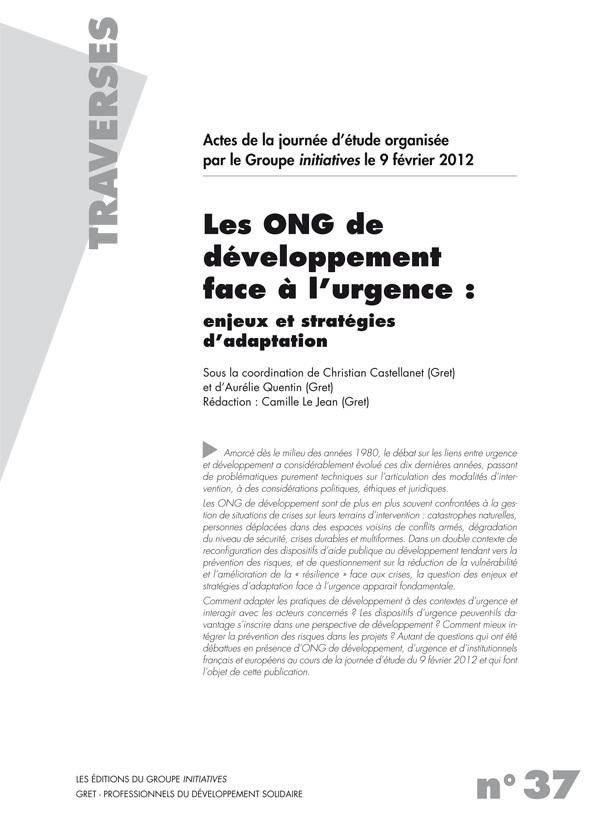 PDF Preview - Les ONG de développement face à l'urgence : enjeux et stratégies d'adaptation