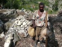 Dans Haïti meurtrie visite à Cap Rouge et Michineau Vignette