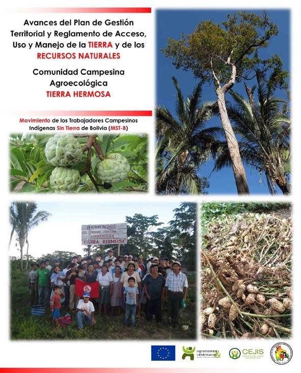 Thumbnail - Cartilla del plan de gestión territorial de la comunidad campesina agroecológica Tierra Hermosa - MST Bolivia