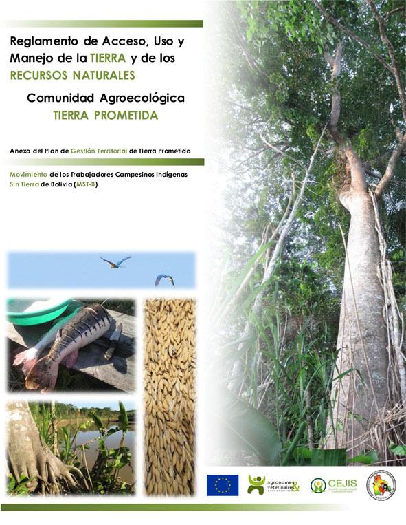 Thumbnail - Reglamento de acceso, uso y manejo de los recursos naturales de la comunidad agroecológica Tierra Prometida - MST Bolivia